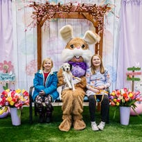 Photos: Visiting with the Easter Bunny at Brookfield Square Mall