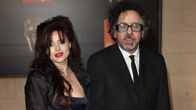 Helena Bonham Carter and Tim Burton