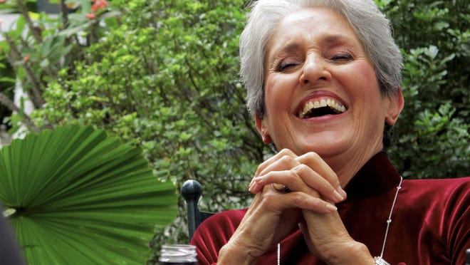 Folk legend Joan Baez performs Saturday night at the State Theatre of Ithaca.