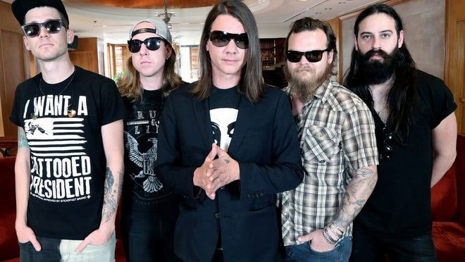 The Red Jumpsuit Apparatus are: John Hartman, Randy Winter, Ronnie Winter, Matt Carter, and Joey Westwood