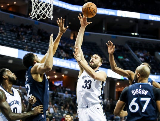 Grizzlies vs. Timberwolves