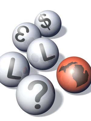Two Lotto 47 ticket buyers will split thegame's record $32.3 million jackpot.