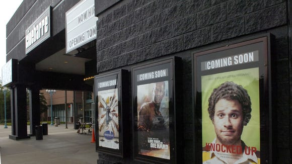 An image of Cinebarre, just before it opened in summer 2007.