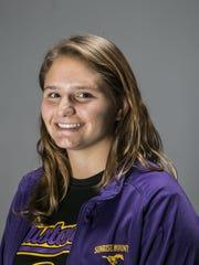 Allison Ruka, Peoria Sunrise Mountain High School swimmer,