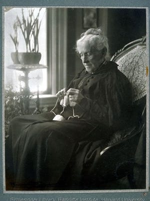 Judith Winsor Smith, suffragist from Marshfield, Duxbury, Scituate and in her later years, Boston.