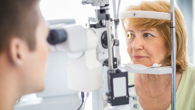 It's recommended that adults see the eye doctor regularly. After the age of 65, it's important that adults get their eyes checked once a year.