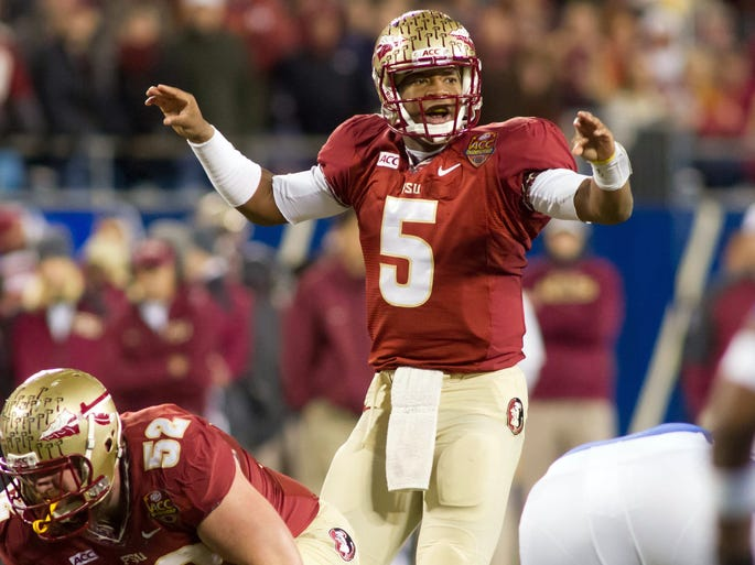 1. Florida State (2013 record: 14-0). Why No. 1? Because the Seminoles are loaded.