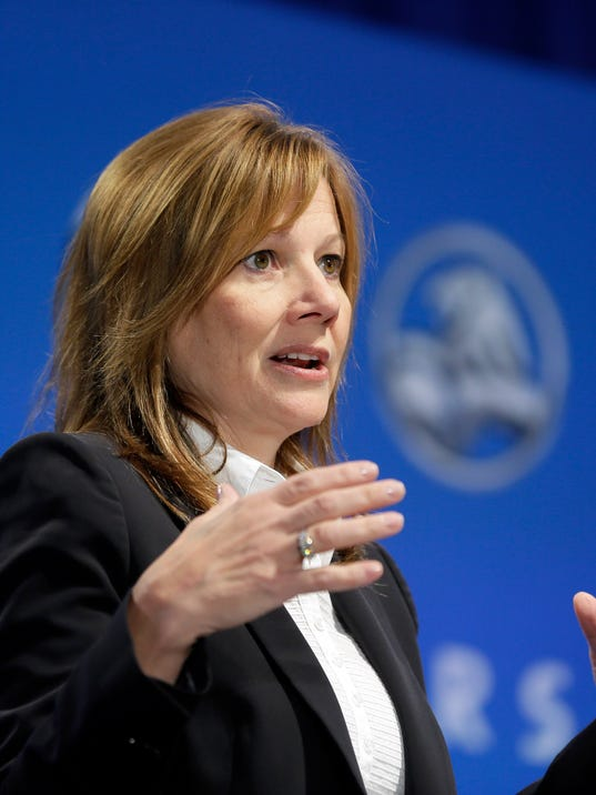 Gm Ceo Mary Barra Adds Chairman Title