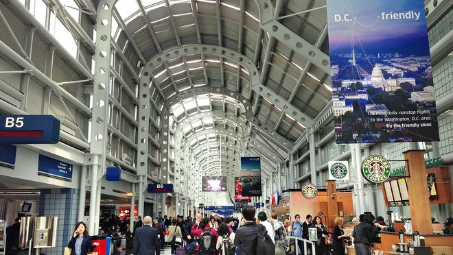 The fifth-busiest airport on the planet, Chicago O'Hare International can be overwhelming even for full-grown road warriors. But if you know where to look, there's enough fun and whimsy to keep kids happy as they're passing through.