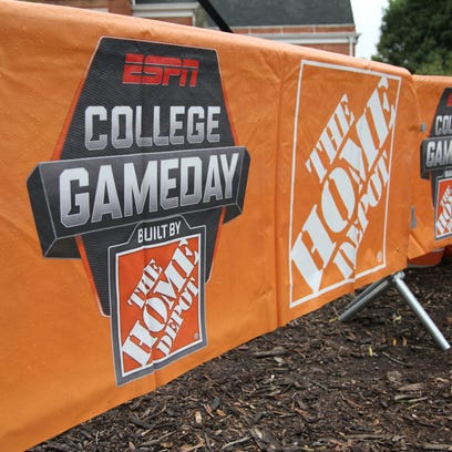 Clemson hosts ESPN College Gameday prior to its matchup