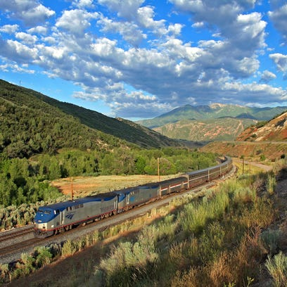 Long distance trains are a fun experience and Ventura