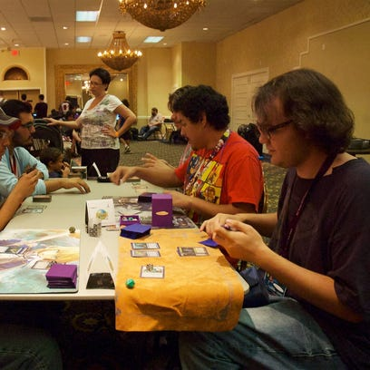 Gamers unite at Las Cruces Game Convention