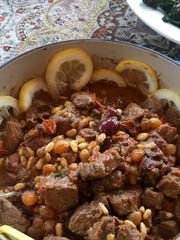 Lamb Stew with Lemon and Olives is a lighter version,