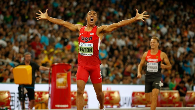 Ashton Eaton of the USA is the reigning world and Olympic champion in the decathlon.