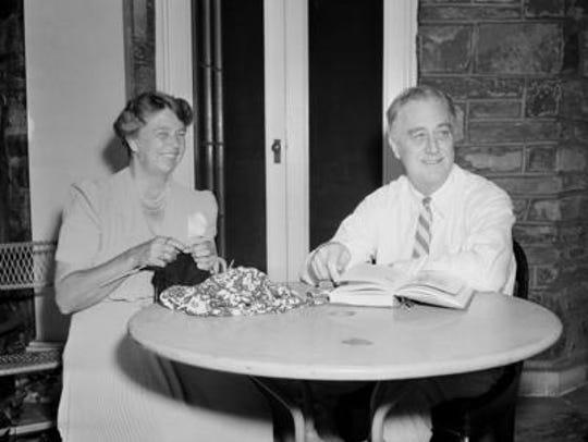 President Franklin D. Roosevelt presented each member