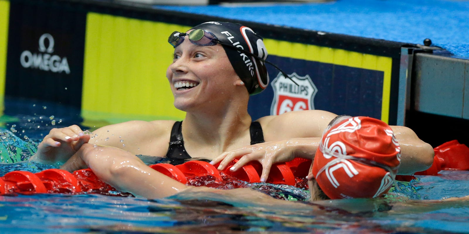 Spring Grove's Hali Flickinger ranked No. 1 in world in 200 butterfly after win in Indy