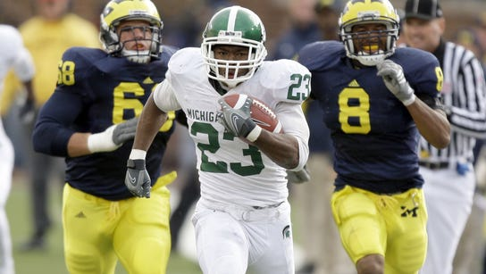 Javon Ringer helped MSU race away from Michigan on