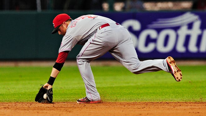 Zack Cozart's defensive performance this season should put his name in the Gold Glove hat.