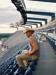 Kenny Chesney at Foxborough's Gillette Stadium, birthplace