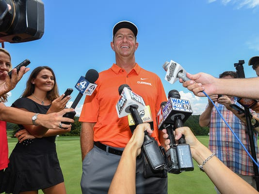 Dabo Swinney Media Golf Outing