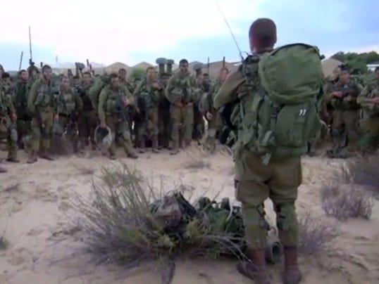 EPA MIDEAST ISRAEL PALESTINIANS GAZA STRP
