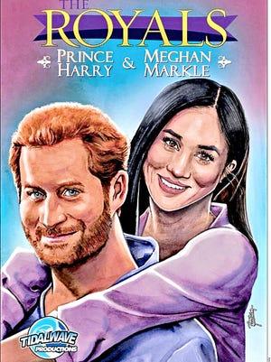 """El Príncipe Enrique y Meghan Markle, ya tienen su cómic: """"The Royals: Prince Harry & Meghan Markle"""", que salió ayer a la venta en versión impresa y digital. Además, el canal Lifetime produce la película Harry & Meghan: A Royal Romance"""