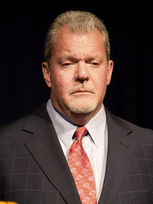 Indianapolis Colts owner Jim Irsay pleaded guilty to operating a vehicle while intoxicated, receiving one year of probation.