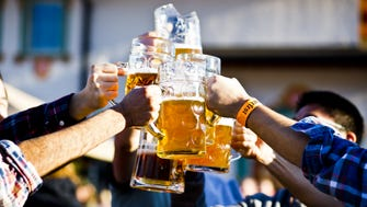 Held during the first three weekends in October, its Oktoberfest features beer from Germany.