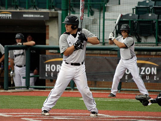 Daulton Varsho of Chili was named the Horizon League Player of the Year in 2016.