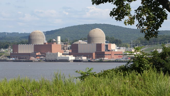 The Indian Point nuclear power plant in Buchanan, as seen from across the Hudson River in Tomkins Cove Aug. 27, 2013.