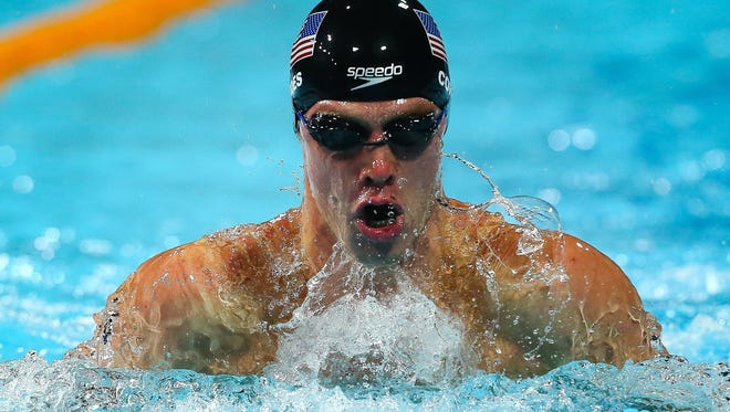 UA's Kevin Cordes had more bad luck at a major international meet Friday when his goggles filled with water at the start and he was disqualified for an illegal motion to remove them at the turn of the Pan Pacific 100-meter breaststroke final.