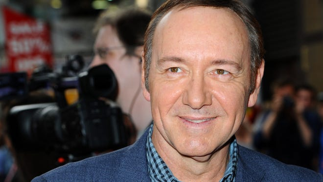 """Kevin Spacey attends the UK Premiere of """"Now"""" at Empire Leicester Square on June 9, 2014 in London, England."""