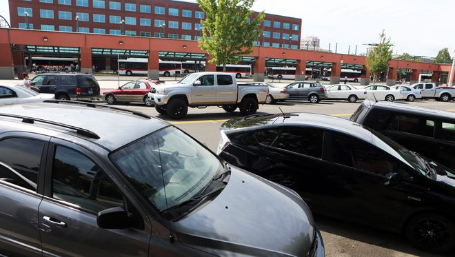 Parking spaces are at high demand downtown on Chemeketa Street NE.