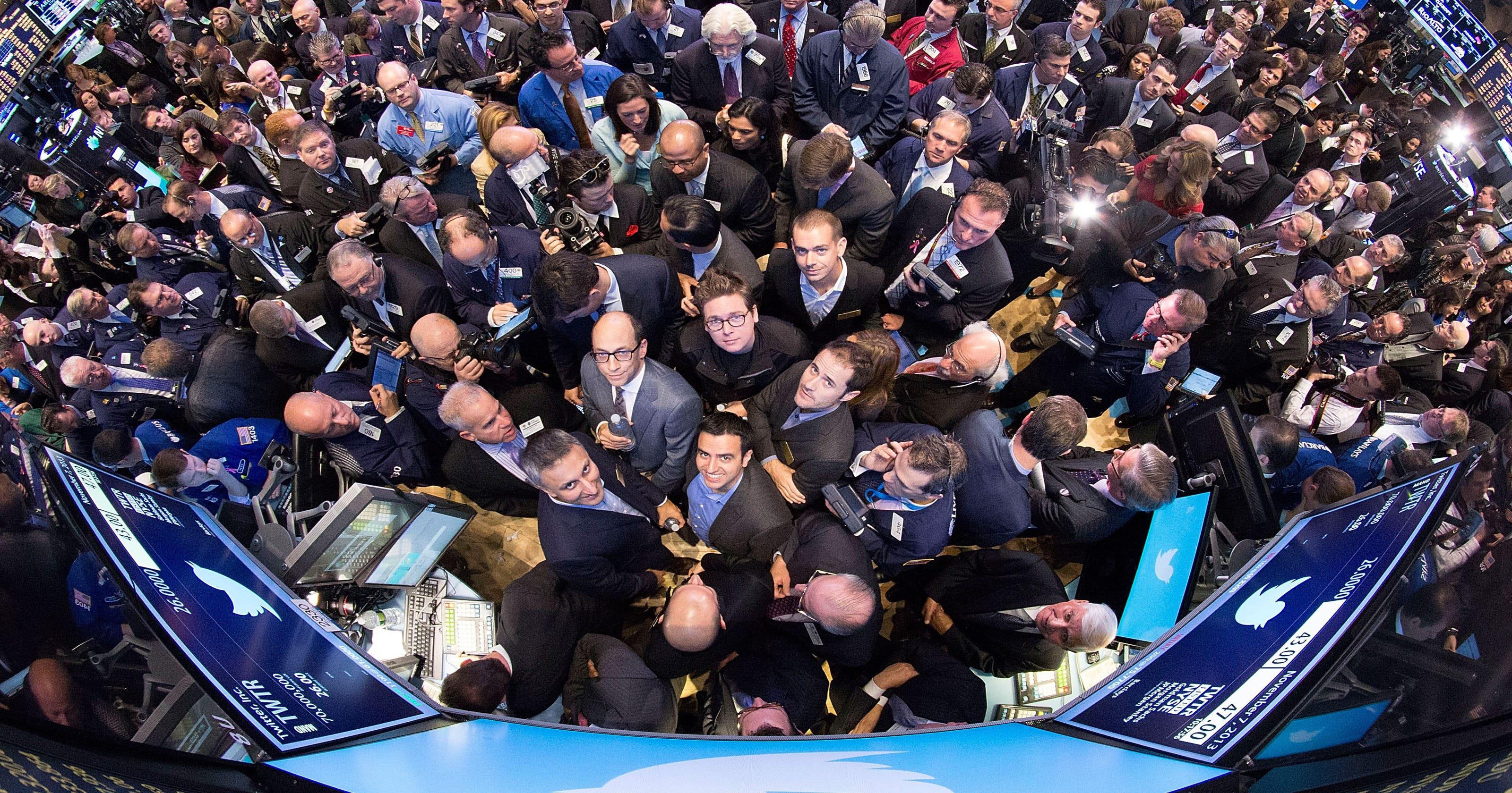 Twitter soars 73% in stock market debut