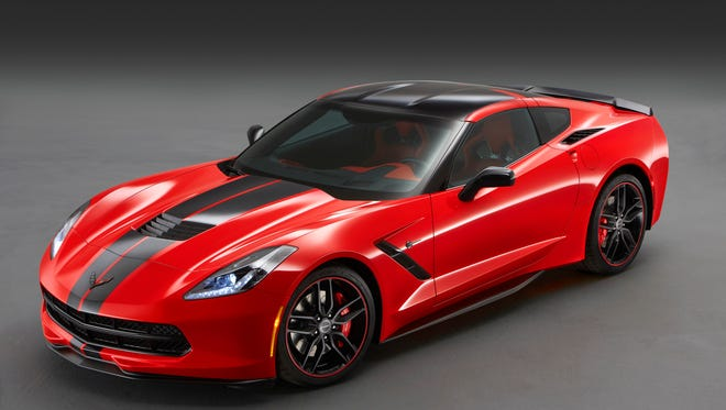 For the Pacific, a Corvette Stingray with lots of extra performance touches