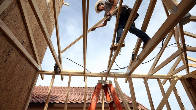 New-home sales surged 18.6% in May. ( Getty  Images,Justin Sullivan)