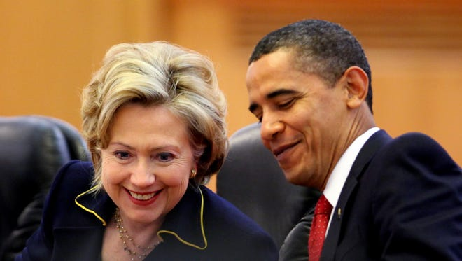 President Obama and Hillary Rodham Clinton back in 2009.