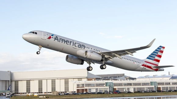 American welcomes new Airbus A321