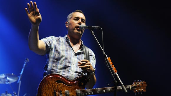 Ed Robertson of Barenaked Ladies performs during The Last Summer On Earth Tour at Cruzan Amphitheatre on July 18, 2012 in West Palm Beach, Florida.