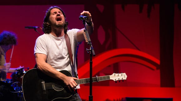 Matt Nathanson performs at The Wiltern in Los Angeles last year.