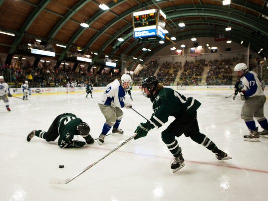 Stowe vs. U-32 DII Hockey Championships 03/09/15