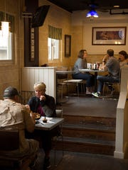 """""""We go to Florida three or four times a year and we get better food here than we do on the coast,"""" said Pam Dieckmann of Boonville, Ind., bottom left, who was dining with her husband, Milt, at The Tin Fish in Newburgh, Ind., Friday afternoon."""