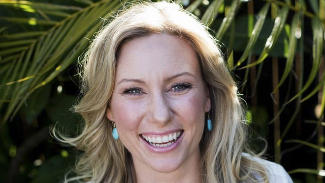This undated photo provided by Stephen Govel shows Justine Damond, of Sydney, Australia, who was fatally shot by by police in Minneapolis on July 15, 2017.