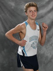 All-Midstate cross country Tucker Moss, SiegelThursday