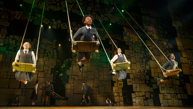 """The company of """"Matilda the Musical"""" performs  """"When I Grow Up."""""""
