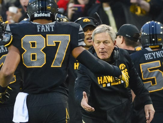 Kirk Ferentz and his Iowa Hawkeyes took it to Ohio