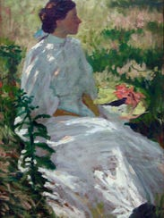 Charles Webster Hawthorne's 1900 'A Study in White'