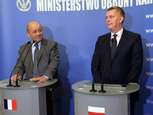 POLAND-FRANCE-DEFENCE-DIPLOMACY-RUSSIA-INDUSTRY-WEAPONS