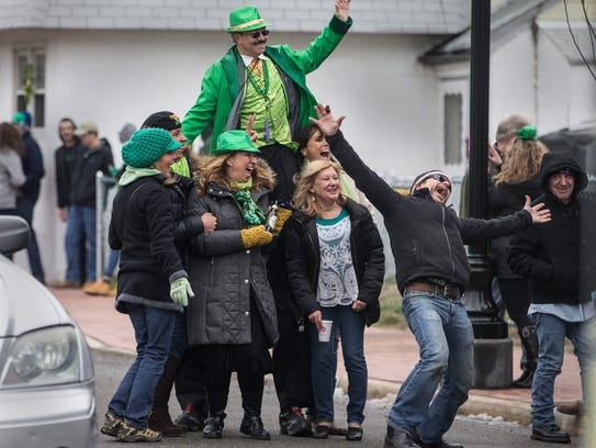 The annual Highlands St. Patrick's Day Parade makes