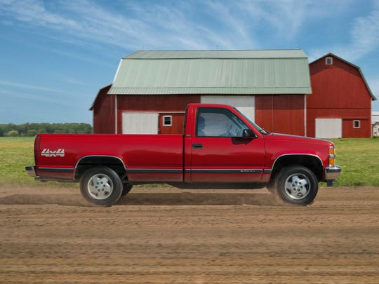 "1988 - 1998 ""Fourth Generation C/K (GMT 400)""-- The first Chevy truck built on the GMT400 platform, these trucks feature all-independent front suspensions and a evolution in cab comfort. Insta-Trac 4WD is introduced, allowing drivers to shift in and out of 4WD without leaving the cab."